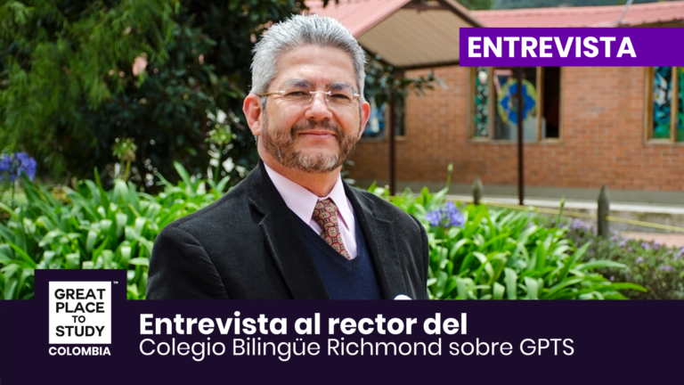 Adalberto Loaiza rector del Colegio Bilingüe Richmond habla sobre Great Place to Study ™