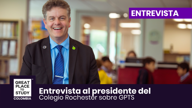 Juan Pablo Aljure Presidente del Colegio Rochester habla sobre Great Place to Study ™